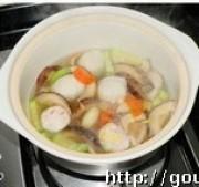 蔬菜丸子汤的做法步骤5