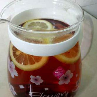 蜂蜜柠檬减肥红茶