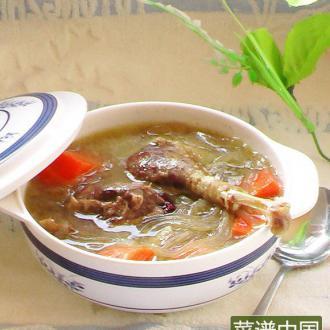 粉条鹅肉汤