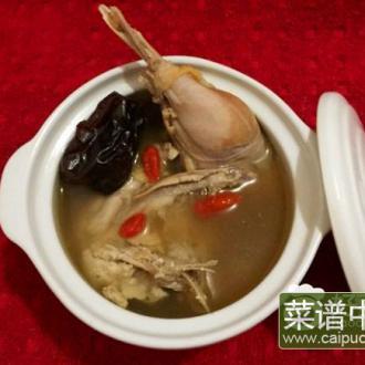 红枣枸野鸡汤