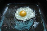 鲜韭菜炒荷苞蛋的做法步骤3
