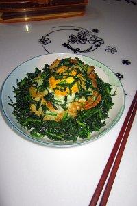 鲜韭菜炒荷苞蛋的做法步骤10