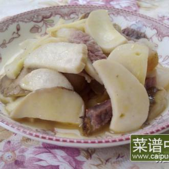 杏鲍菇熏肉