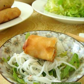 越式蟹肉春卷