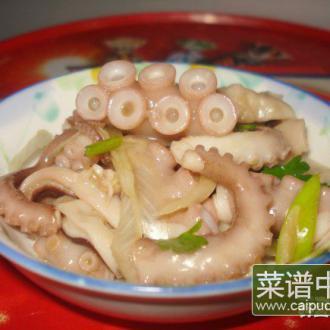 芥末拌章鱼
