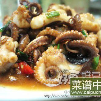沙姜爆章鱼