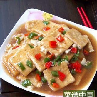 原创首发:香煎豆腐