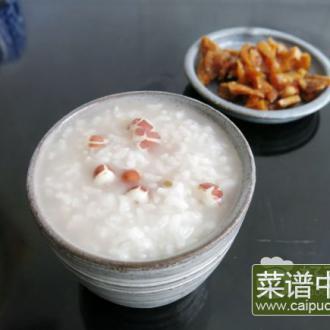 芡实白米粥