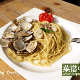 白酒蛤蜊意面