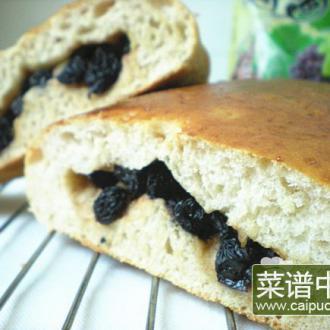 红酒葡萄干面包
