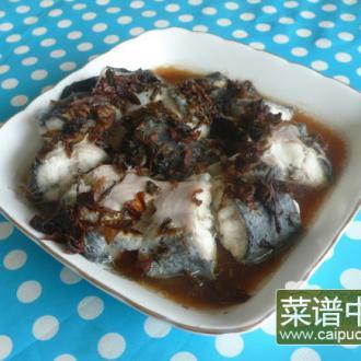 霉干菜蒸鳗