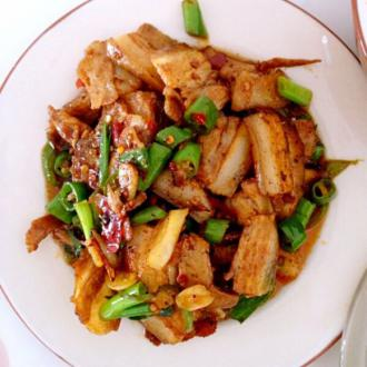尖椒回锅肉