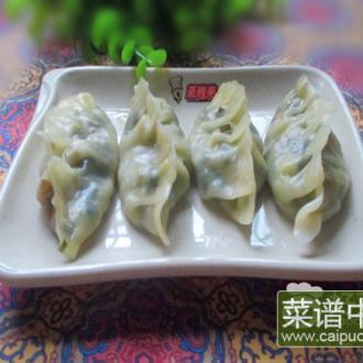 鸡蛋韭菜蒸饺#新鲜从