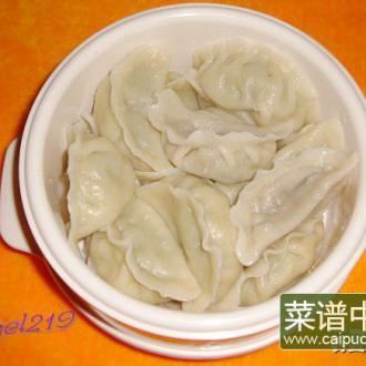 芹香猪肉馅饺子