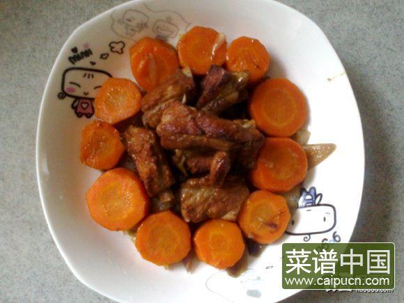 洋葱胡萝卜烧排骨