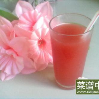 西瓜红茶沙冰