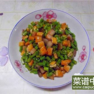 杂蔬炒肉丁