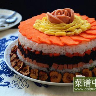 枣香米饭蛋糕