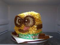 3D小黄人裱花蛋糕的做法步骤44