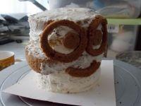 3D小黄人裱花蛋糕的做法步骤43