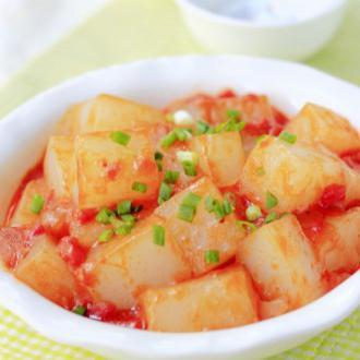 西红柿炒凉粉