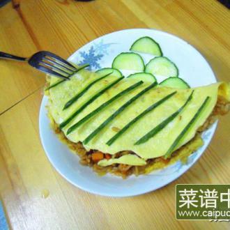 果蔬蛋包饭