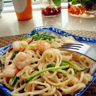 泰式海鲜炒面