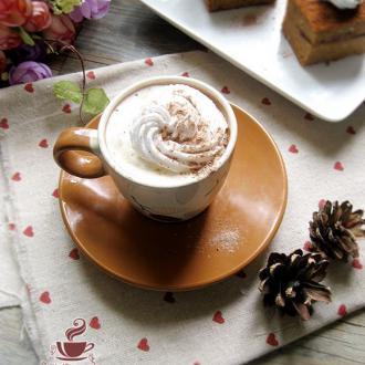 淡奶油白咖啡
