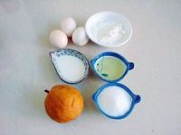 蛋黄果戚风蛋糕的做法步骤1