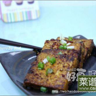 辣味煎酱豆腐