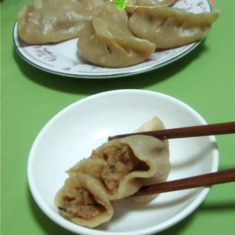 猪肉西葫芦蒸饺