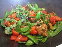 泰式风味荷豆鸡腿肉的做法步骤10
