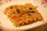 鸡蛋米饭煎饼的做法步骤6