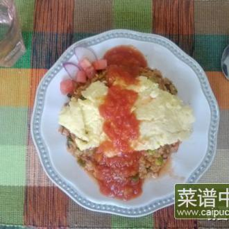 日式蒲公英蛋包饭