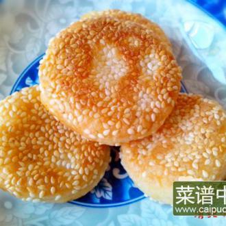 玉米粥芝麻煎饼