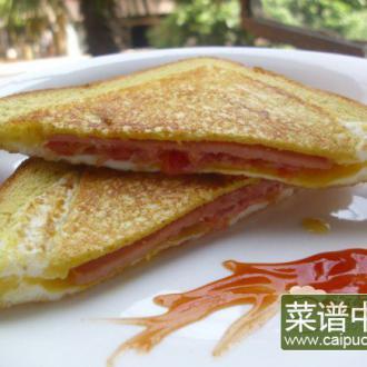 香煎三明治