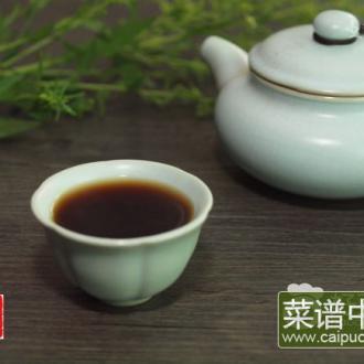 陈皮乌梅普洱茶