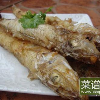 香煎沙丁鱼—简单的美