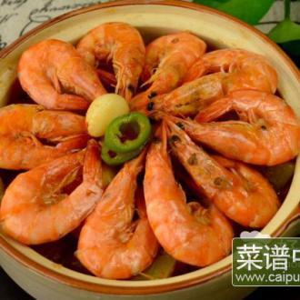 鲜虾烩时蔬