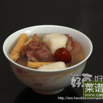 淮山北芪党参煲羊肉