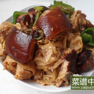 东坡肉烧油皮卷