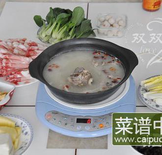 猪骨汤底火锅