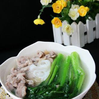 肉丝米粉汤