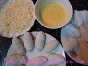 槟榔香芋酥的做法步骤2