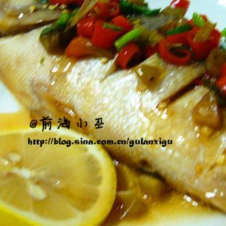 泰式柠檬清蒸鱼