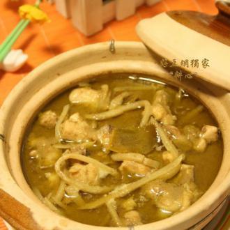 泰式青咖喱鸡肉