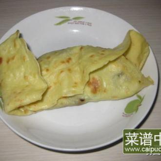 鸡蛋饼卷香肠