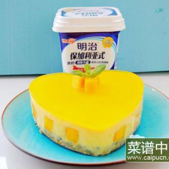 芒果酸奶慕斯