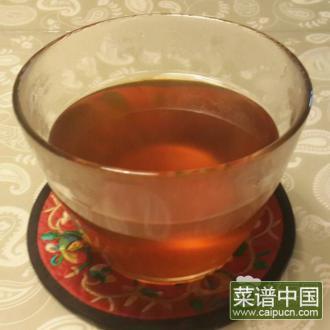 枇杷罗汉果凉茶