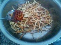 凉拌鱼腥草的做法步骤7